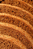 Rye bread sliced stock images