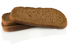 Rye bread sliced Stock Photography
