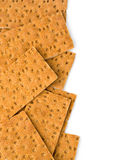 Rye bread square Royalty Free Stock Image