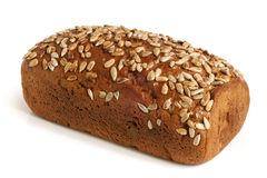 Rye bread with sunflower seeds Royalty Free Stock Images