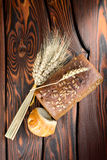 Rye bread and wheat Stock Photography