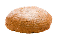 Rye bread on white Stock Photo