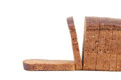 Rye bread on a white background. Rye bread isolated on a white background Stock Photography