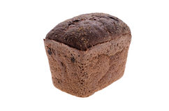 Rye bread, whole brick. unleavened. bread on the hop. natural fo Royalty Free Stock Photo