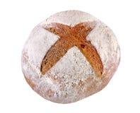 Rye-Brot verkrustet mit Mehl Lizenzfreie Stockbilder