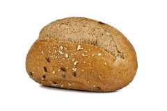 Rye bun with bran Royalty Free Stock Photos
