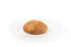 Rye bun Royalty Free Stock Images