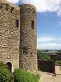 Rye castle. Castle remnants in Rye, England Royalty Free Stock Image