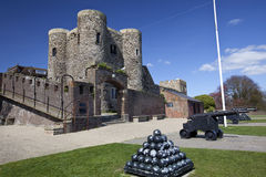 Rye Castle Ypres Tower with Canon Stock Photography