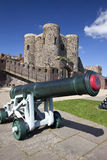 Rye Castle Ypres Tower with Canon Stock Images