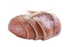 Rye cortou o pão Imagem de Stock Royalty Free