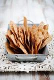 Rye crackers Stock Image