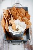 Rye crackers Royalty Free Stock Photos