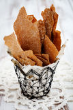 Rye crackers Stock Photography