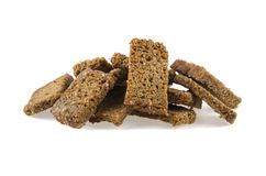 Rye crackers Stock Photo