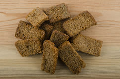 rye crackers Stock Photos