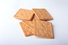 Rye crispbread isolated on a white background Stock Photo