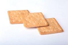 Rye crispbread isolated on a white background Stock Image