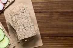 Rye Crispbread Royalty Free Stock Image