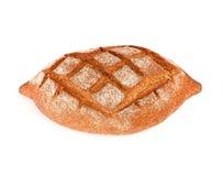 Rye dark bread with bran Stock Photo