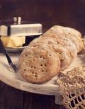 Rye flat bread Stock Photography