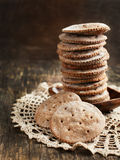 Rye flat bread Royalty Free Stock Photography