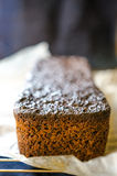 Rye flour and malt bread Royalty Free Stock Photos