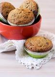 Rye flour muffins Stock Photo