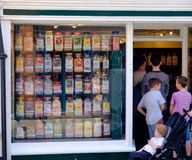 Rye-High Street Sweet Shop royalty free stock images