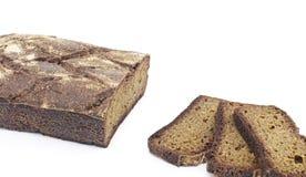 Rye homemade cut bread Stock Photos