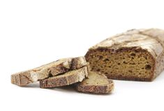 Rye homemade cut bread Royalty Free Stock Image