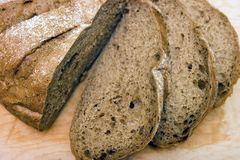 Rye loaf Royalty Free Stock Photography
