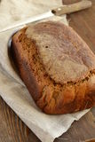 Rye loaf of homemade bread Stock Image