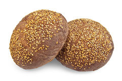 Rye muffins Stock Photos