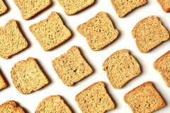 Rye, овсы, гречиха, объединенный тост хлеба стоковое фото rf