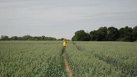Rye path women stock video