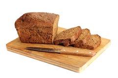 Rye rebanó el pan Imágenes de archivo libres de regalías
