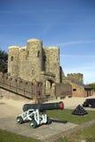 Rye-Schloss Stockbilder