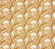 Rye Seamless Pattern. Vector illustration, EPS10 Stock Photography