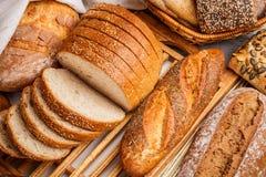 Rye sliced bread Stock Photo