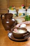 Rye soup Stock Photo