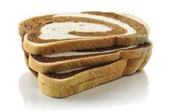 Rye swirl bread royalty free stock image