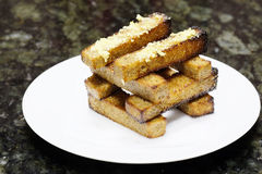 Rye toasts Royalty Free Stock Photography