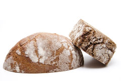 Rye and wholemeal bread Royalty Free Stock Image