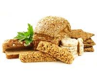Rye wholemeal bread Stock Photos