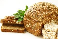 Rye wholemeal bread Stock Photo