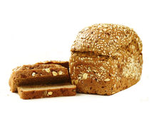 Rye wholemeal bread Stock Photography