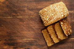 Rye wholemeal bread Stock Images