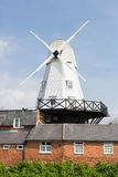 Rye windmill by the river Tillingham Stock Photography