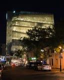 Ryerson universitetsstudent Learning Centre på natten Arkivbild